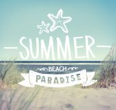 Summer Quote — Stock Photo