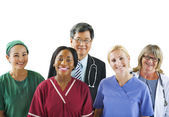 Group of Multiethnic Medical People — Stock Photo