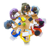 Group of people Working Together — Stock Photo