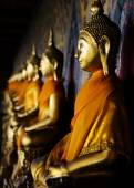 Buddhas of Wat Arun — Stock Photo