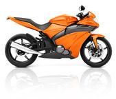 Modern Motorbike — Stock Photo