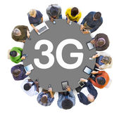 People and 3G Concept — Stock Photo