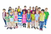 Large Group of Children — Stock Photo