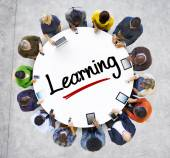 People and Learning Concept — Stock Photo