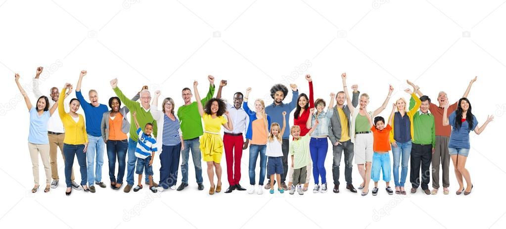 一群人举手 — 图库照片08rawpixel#52469565图片