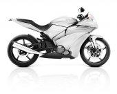Modern Motorbike — Foto Stock