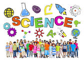 Group of Children with Science Concept — Stock Photo