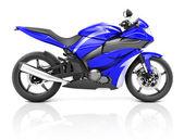 Modern Motorbike — Stockfoto