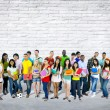 Mixed Age and Race Students — Stock Photo #59927355
