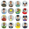 Children with Various Jobs — Stock Photo #59927535