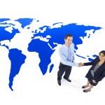 Business people handshake — Stock Photo #59928587