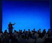 Business People Listening To Speech — Stock Photo