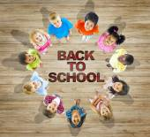 Children with Back to School Concept — Stock Photo