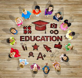 Children with Education Concept — Stock Photo