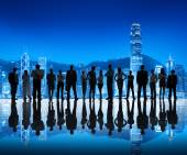 Business People in City — Stock Photo