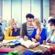 Group of Students Learning Together — Stock Photo #59938925