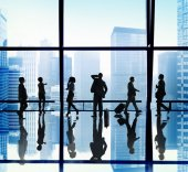Business People in Urban Scene — Stock Photo