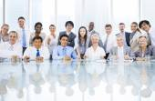 Multi ethnicity business people — Stock Photo