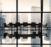 Meeting Table in Office — Stockfoto