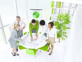 Business people at Green Office — Stock Photo