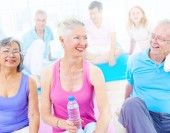 Group of Healthy Sport People — Stock Photo
