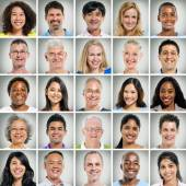 Pessoas sorridentes — Foto Stock