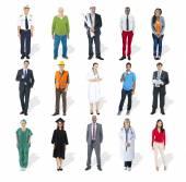 Mensen met verschillende banen — Stockfoto