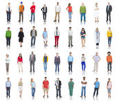 Diverse People with Different Occupations — Stock Photo