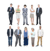 Group of Multiethnic Diverse Business People — Stock Photo