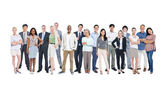 Diverse occupational people — Stock Photo