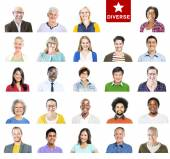 Multiethnic Cheerful People — Stock Photo