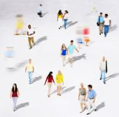 Ethnic Ethnicity Togetherness Variation Crowd — Stock Photo