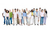 Group of casual people — Stock Photo