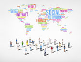 People and Social Networking — Stock Photo