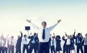 Business People Celebrating Success — Stock Photo