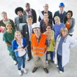 Diverse People with Different Jobs — Stock Photo #60045301