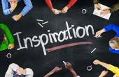 People Discussing About Inspiration — Stockfoto