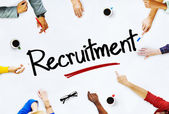People Discussing About Recruitment — Stock Photo
