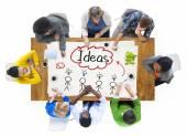 Menschen und Ideen Konzept — Stockfoto