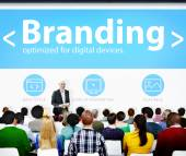 Branding Marketing Web Page Seminar — Zdjęcie stockowe