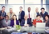 Business People in Board Room — Stockfoto