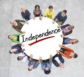 People and Independence Concepts — Stockfoto