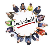 People and Individuality Concepts — Stock Photo