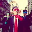 Постер, плакат: Business Superheroes in Hongkong