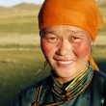 Young Mongolian Lady — Stock Photo #60078597