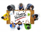 People Discussing About Human Resources — Stock Photo