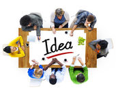 People with Idea Concept — Stock Photo