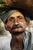 Indigenous Senior Indian Man — Stock Photo