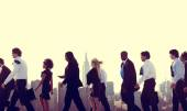 Business People in New York — Stock Photo