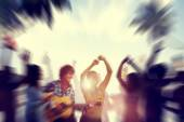 Dancing Party Enjoyment — Stock Photo